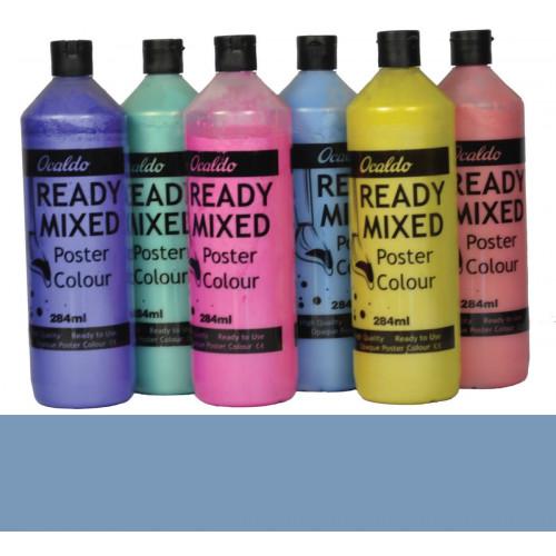 Pearlescent Paint 284ml Bottle - Blue