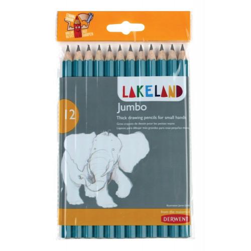Lakeland Jumbo Graphite Pencil Pk12 - HB