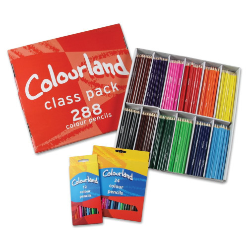 Colourland Colouring Pencil Pk288-Asstd