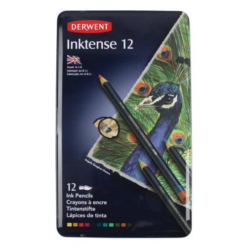 Derwent Inktense Pencil Tin 12-Assorted