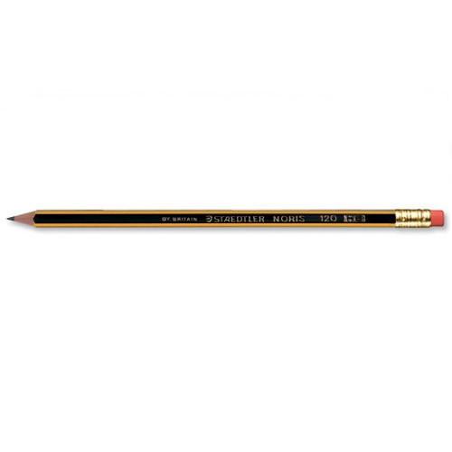 Staedtler Noris HB Eraser Tip Pk12