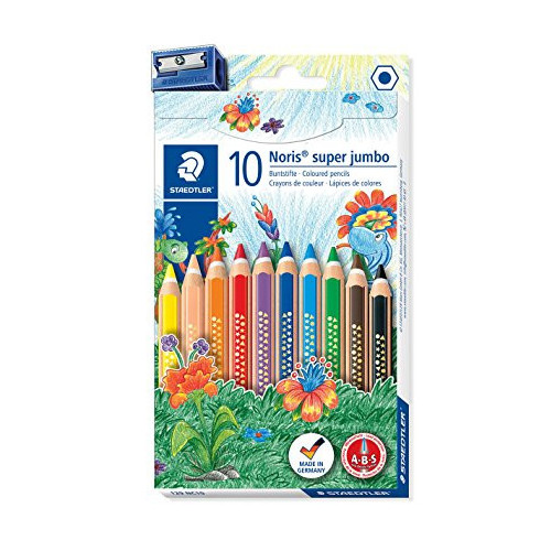 Noris Super Jumbo Pk10 Assorted