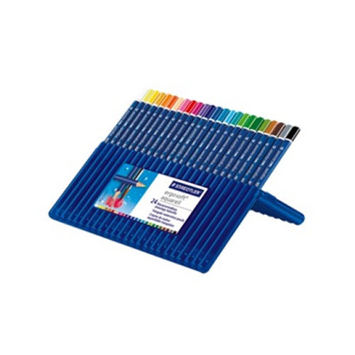 Staedtler Aquarell W/Colour Pencils Pk24