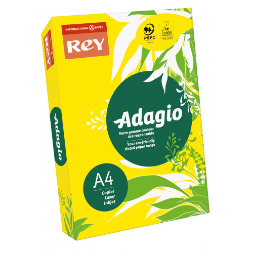 Adagio Yellow A4 80gsm Pk500