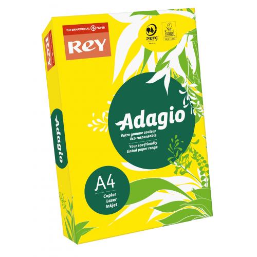 Adagio Yellow A4 80gsm Pk500