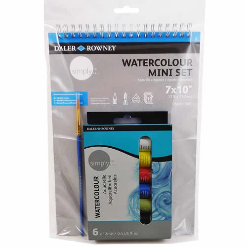 SIMPLY WATERCOLOUR MINI ART SET