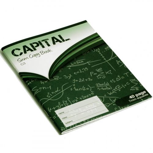 Capital Exercise Book 200x165 40p S7Pk10
