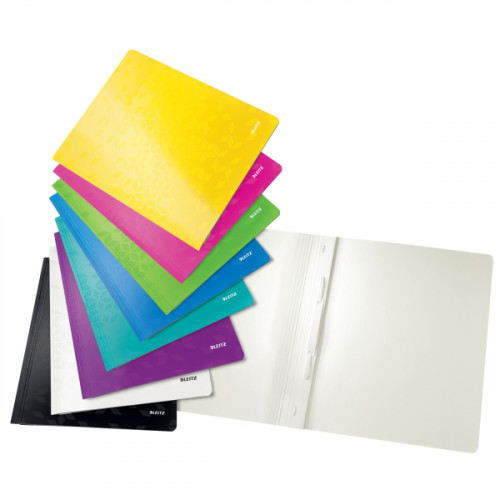 Leitz WOW A4 Card Flat File - Outer carton of 10