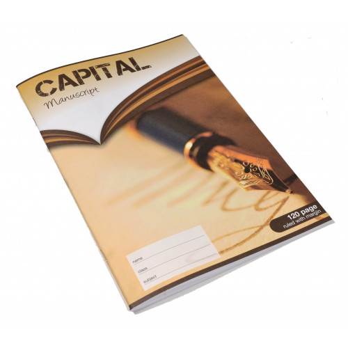 Capital Exercise Book A4 120p F8M Pk5