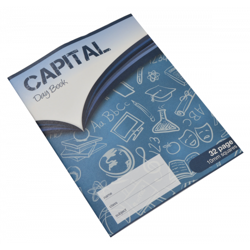 Capital Exercise Book 200x165 32pS10Pk10