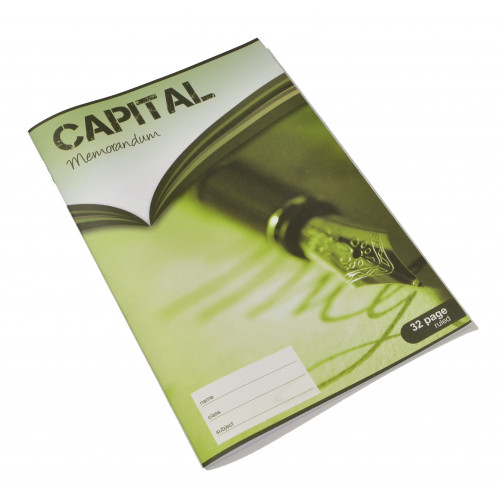 Capital Exercise Book A4 32p F8 Pk5