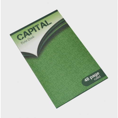 Capital Notebook 165x102 48p F7 Pk10
