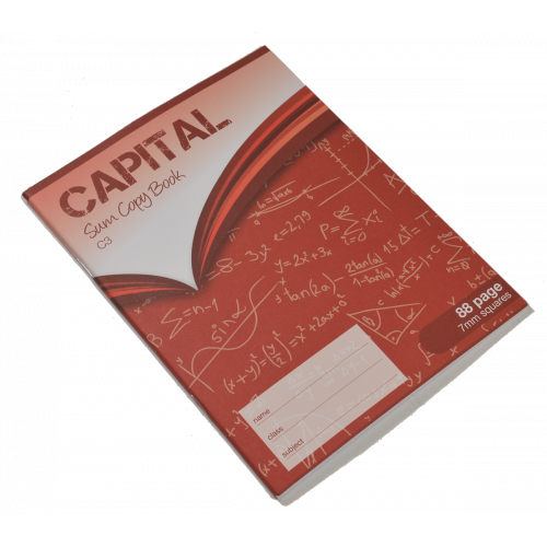 Capital Exercise Book 200x165 88p S7Pk10