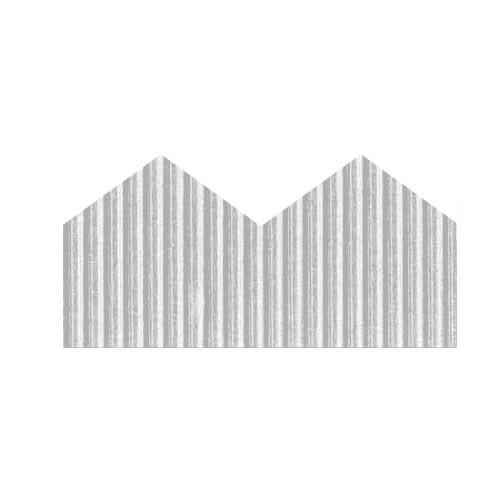 WHITE ZIG ZAG BORDETTE ROLLS 57mmx15m