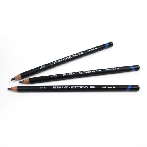 Derwent Watersoluble Pencils Pk12-Light