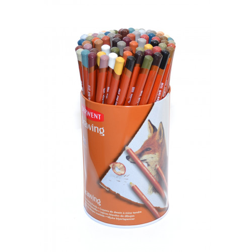 Derwent Drawing Pencils Tub 72-Assorted