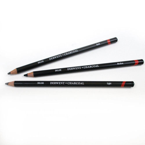 Derwent Charcoal Pencils Tub 72-Assorted