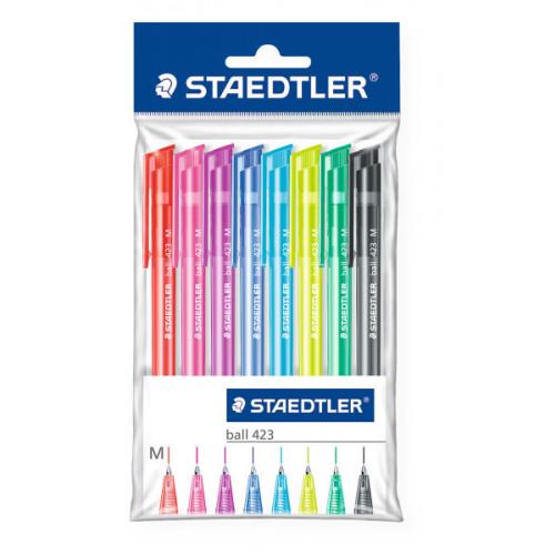 Staedtler Ballpoint Pen Pk10- Assorted