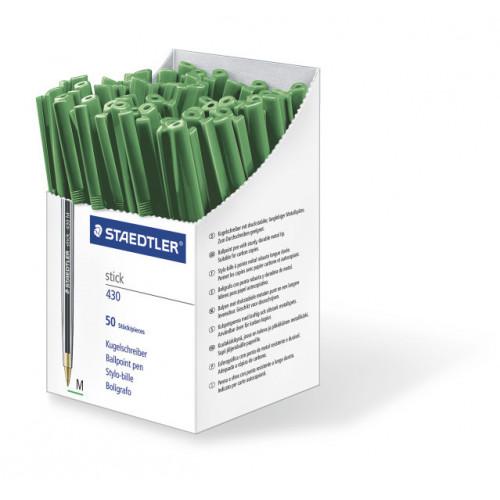 Staedtler Stick Medium Box 50 - Green