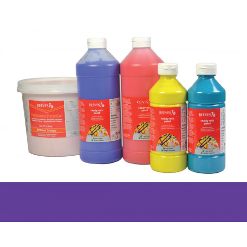 (D)Reeves Redimix Paint 1Lt Purple