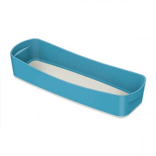 Leitz MyBox Cosy Organiser Tray Long, Storage, W 307 x H 55 x D 105 mm, Calm Blue