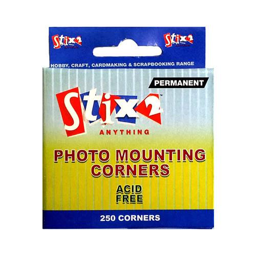 PHOTO MOUNTING CORNERS PK250