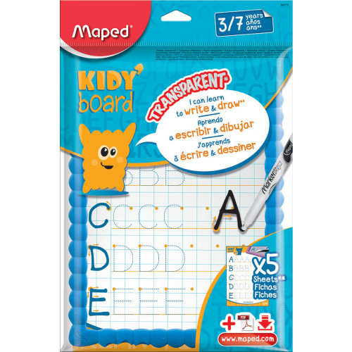 Maped Kidy Learn To Write Board Each