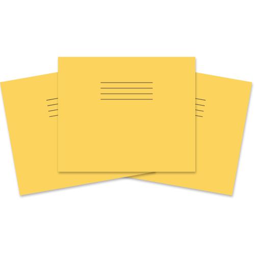 Infant Ex Bk 160x205 40p Blank Yellow