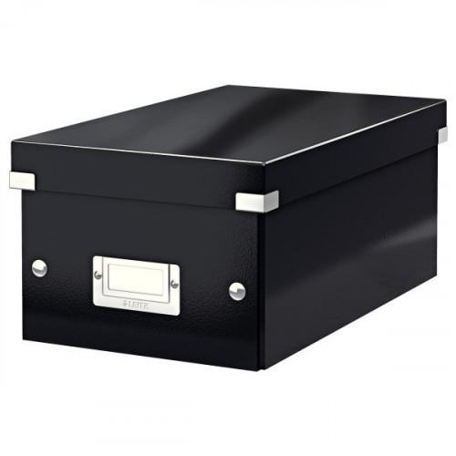 Leitz Click & Store DVD Storage Box, Black