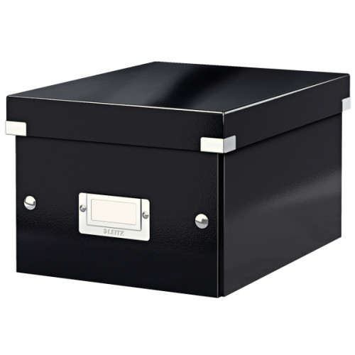 Leitz WOW Click & Store Small Storage Box.  With label holder