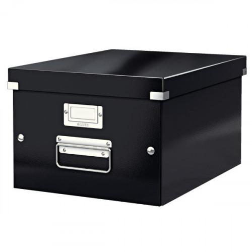 Leitz WOW Click & Store Medium Storage Box. With metal handles