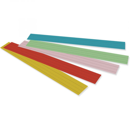 Sentence Strip Rainbow Kraft 76x609mm Pk100