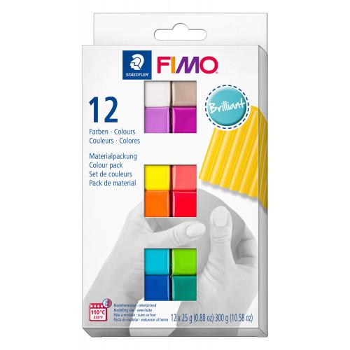 FIMO Soft Colour Pack Half Blocks 25g