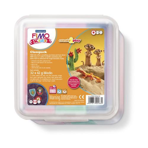 FIMO Kids Classpack 35 Blocks 42g Assorted