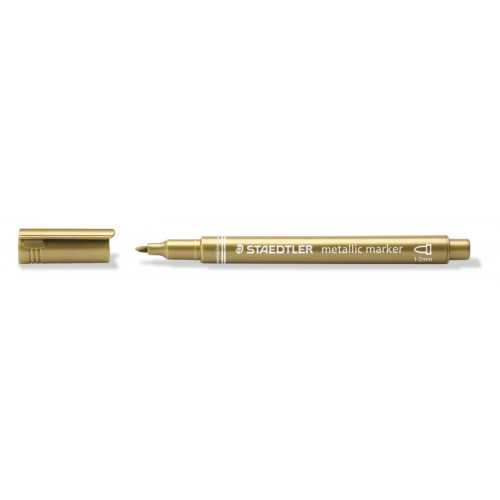Staedtler Metallic Markers Box10-Gold