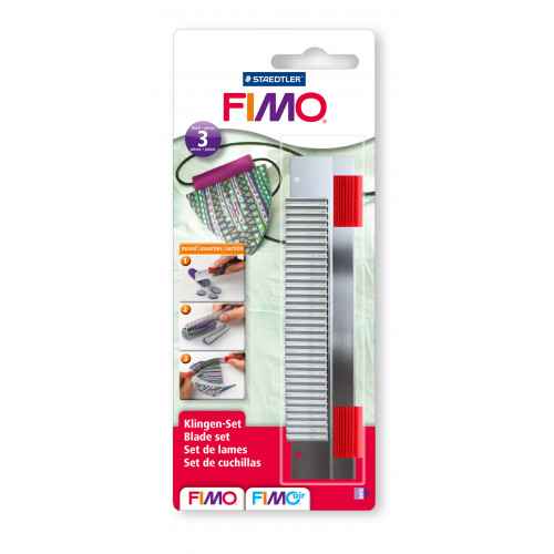 FIMO Cutter Set - Pack of 3 Assorted