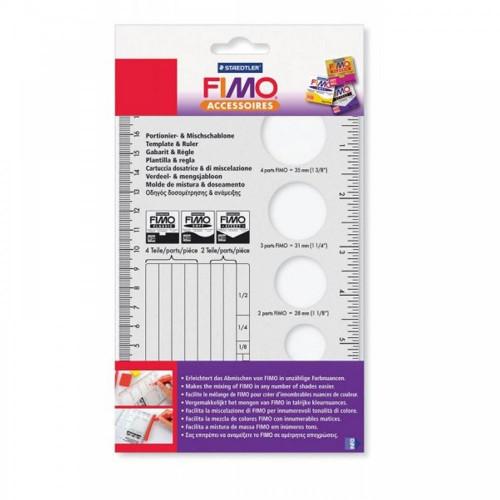 FIMO Plastic Template 200 X 125mm