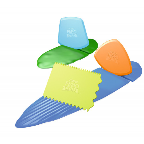 FIMO Kids Work & Play Cutting Tools - Pack of 3