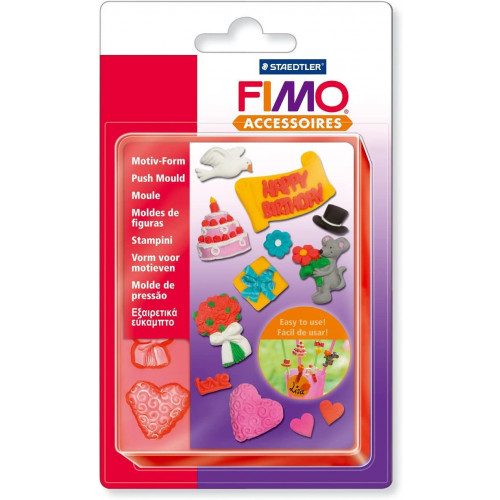 FIMO Push Mould: Party Time