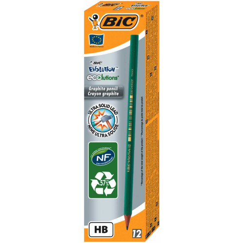 Bic Evolution Graphite Pencil Pk12-HB