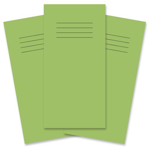 Notebook 205x102 32p Blank Light Green