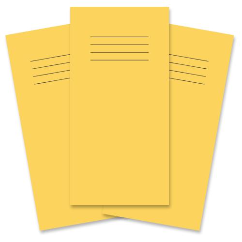 Notebook 205x102 32p F8 Yellow