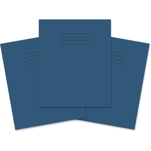 Exercise Book 205x165 48p F12 Dk Blue