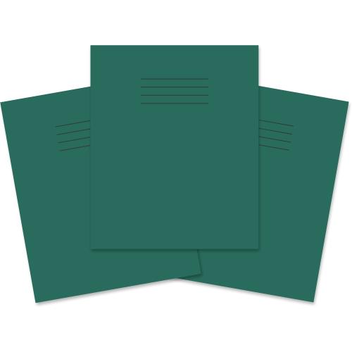 D/Green Writing Book 198x160 32P 4B/15R