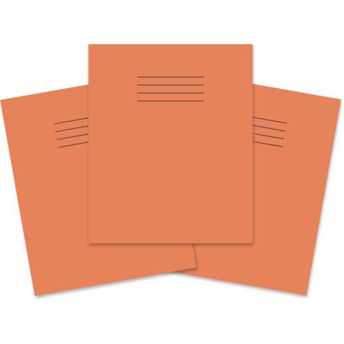 Exercise Book 205x165 48p F8M Orange