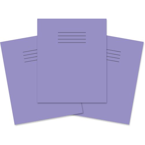 Exercise Book 205x165 48p F8M Purple
