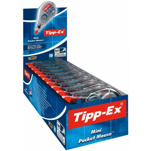 Tipp-Ex Pocket Mouse 5mmx5m-Pk10