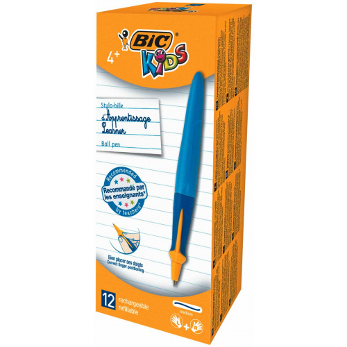 Bic Kids Boys Ball Pen Pk12-Blue
