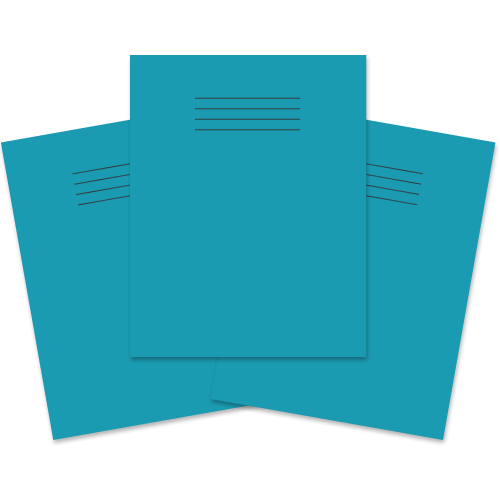 Exercise Book 230x180 60p F8M Light Blue