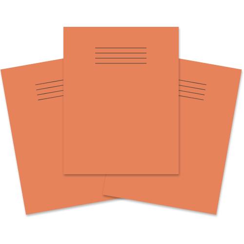 Exercise Book 230x180 60p S10 Orange